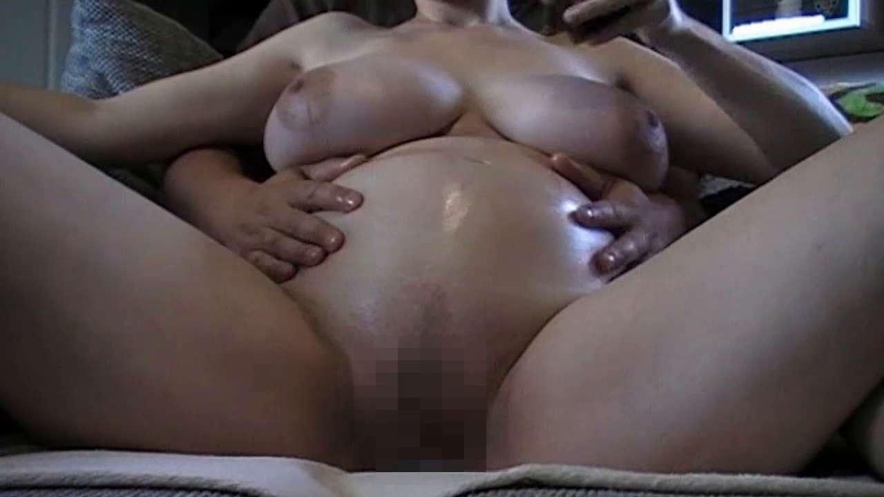 Schwangere eingeölt